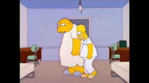 Homer meets Michael Jackson