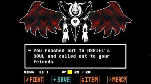 Undertale - Asriel Dreemur, God of Hyperdeath fight
