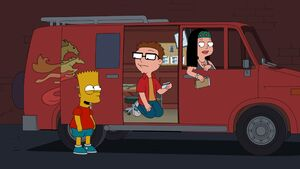 Bart Simpson American Dad