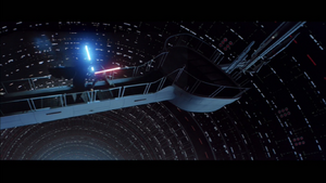Darth Vader tiring