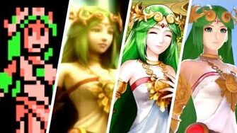 Evolution of Palutena (1986 - 2018)