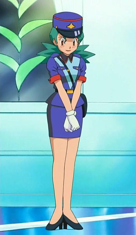 Pokemon: Officer Jenny by RamyunKing on DeviantArt