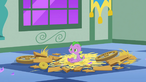 Baby Spike turns back to normal S1E23