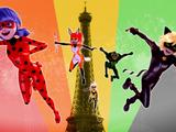 French Miraculous superhero team