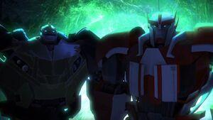 Ratchet and Bulkhead (Orion Pax, part 2)