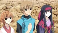 Syaoran, Sakura and Tomoyo