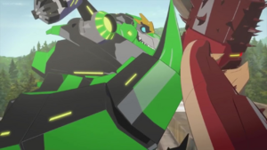 Grimlock (Tail Smash)