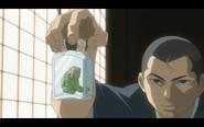 Masamori holding Yoki