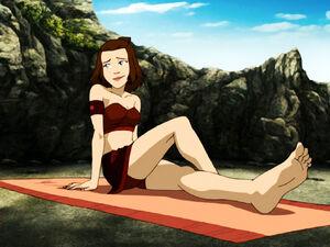 Suki on Beach