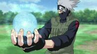 800px-Kakashi Hatake - using Rasengan