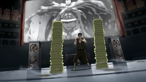 Bolin summons earth discs