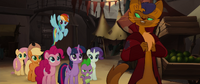 Capper offers to lead Mane Six to the hippos MLPTM