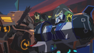 Grimlock, Strongarm and Quillfire