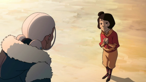 Jinora asking about Ursa