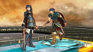 Lucina and Marth