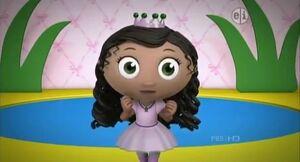 Princess pea ballerina