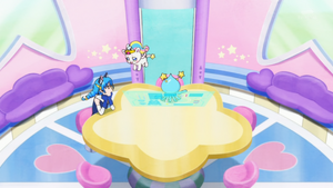 STPC33 Unicorn Fuwa found Yuni and Prunce by herself