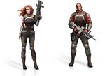 Templar soldier female