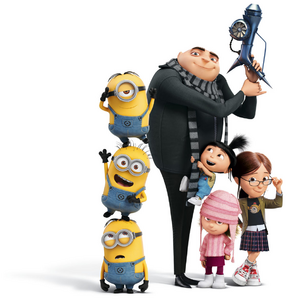 Gru and family dm3