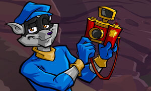 Sly Cooper with Carmelita's Camera