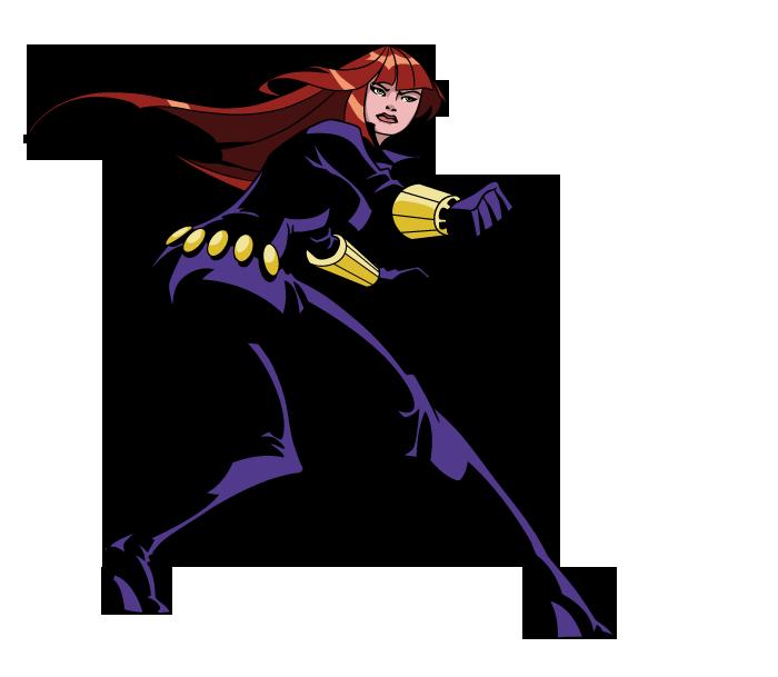 Black Widow (The Avengers: Earth's Mightiest Heroes ...