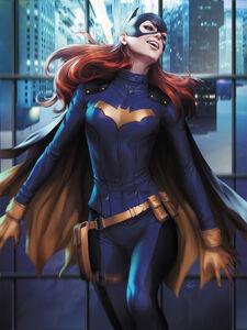 Batgirl Vol 5 31 Textless Variant