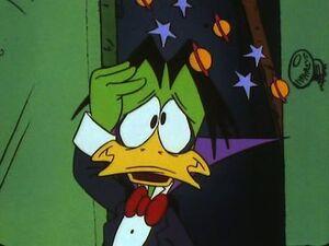 Count Duckula dizzy