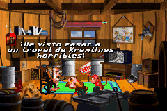 Donkey Kong Country gba dk diddy and cranky