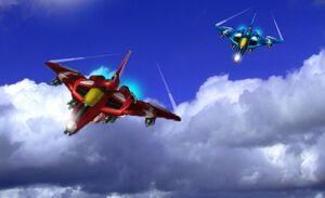 Raiden iii blazing in skies by arya74-d32nylx