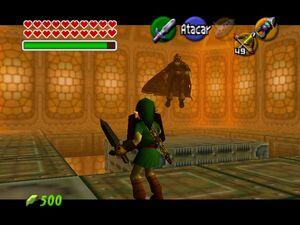 Legend of Zelda, The - Ocarina of Time 64 Link VS Ganondorf
