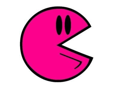 Pink Pac-Man