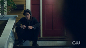 Season 1 Episode 2 A Touch of Evil Jughead waiting at Archie's house