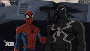 Spider-Man and Agent Venom