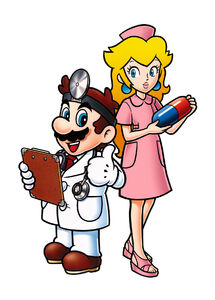 DMPL-Dr Mario and Toadstool