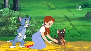 Tom, Dorothy, Toto and Jerry