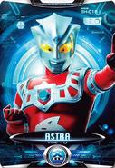 Ultraman X Ultraman Astra Card