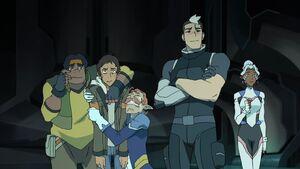 VLD - Hunk, Lance, Coran, Shiro and Allura