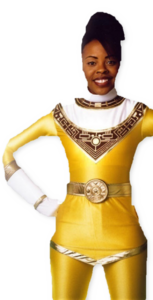 9e5bee80d84a45c29463cbc2dbc070 - tanya helmetless yellow zeo ranger vector by rangerfan151