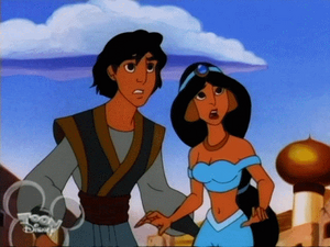 Aladdin& Jasmin-Hercules and the Arabian Night02