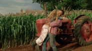 Channing hugs her Dad for finally relenting