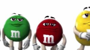 M&M's - Power Walk A Parody of Monsters Inc