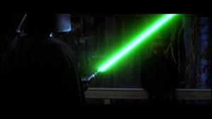 Vader holding