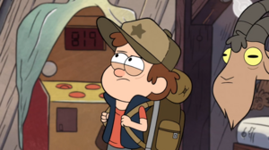 Dipper looking around