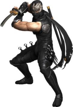 Ryu Hayabusa Transparent Background