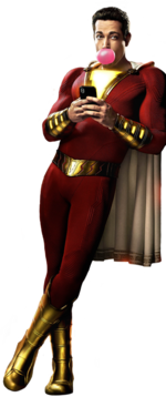 Billy Batson as Shazam (2019)