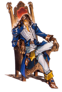 Castlevania - Richter Belmont as Lord of Castlevania while under Shaft's Control