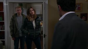 Debbie and Noah confront Graham