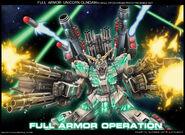 GundamFull Armor Unicorn Gundam by alphal