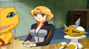 Megumi y PawnChessmon mesa