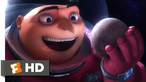 Despicable Me (11 11) Movie CLIP - Gru Shrinks the Moon (2010) HD